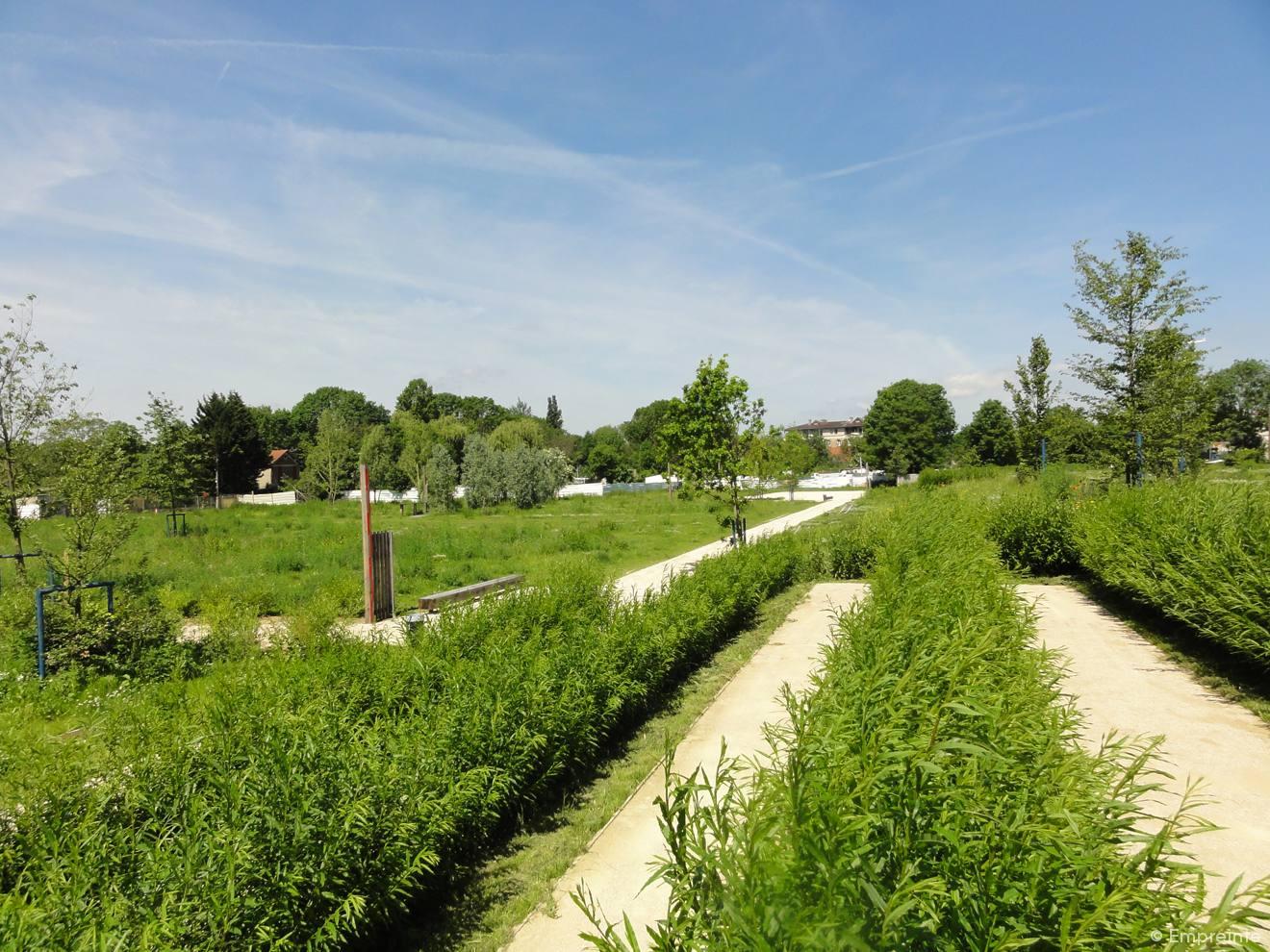 Parc des rives de l yerres empreinte bureau de paysages for Agence empreinte paysage